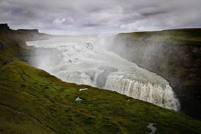 Gullfoss waterfall ~ Iceland