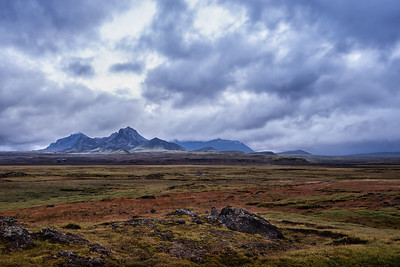 A landscape in Iceland.