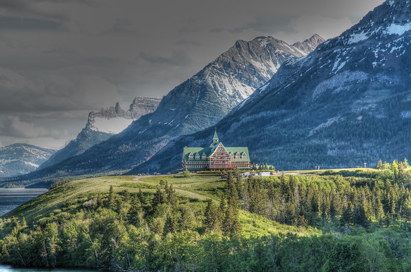 Prince of Wales Hotel, Waterton Lakes NP.
