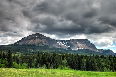 Sofa Mountain, Waterton Lakes NP.