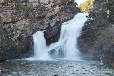Cameron Falls, Waterton Lakes NP.