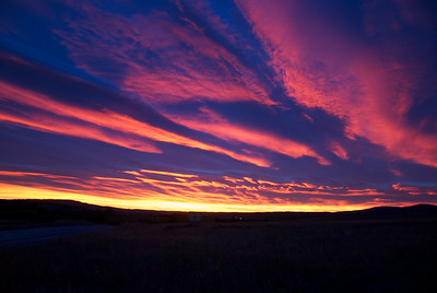 Sunset, Cardston Alberta.