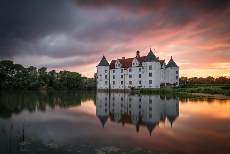Schloss Glücksburg an der Ostsee