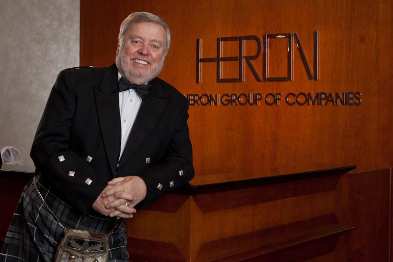 Hugh Heron, President of Heathwood Homes