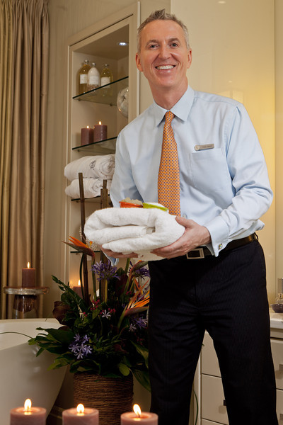PEOPLE - Todd Hewitt, Spa Director, Four Seasons Hotel, Toronto
