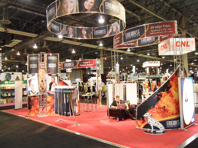 Firehouse trade show booth