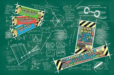 Toxic Waste chalkboard