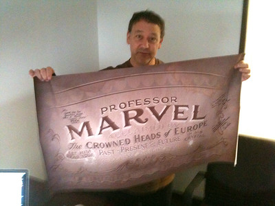 Sam Raimi and Marvel banner