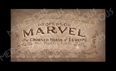 Professor Marvel banner