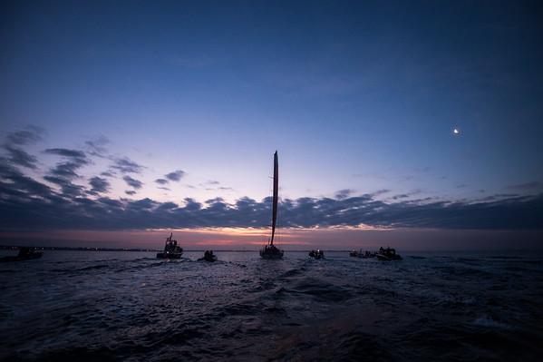 Volvo Ocean Race 2014-15 - Lorient Arrival