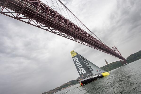 Volvo Ocean Race 2014-15 - Lisbon Start