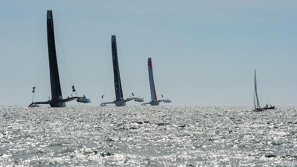 17/09/2012 - Cascais (POR) - MOD70 - EUROPEAN TOUR - Day 6 - Offshore Race