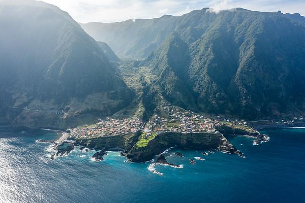 Seixal, a small village in Madeira Island, Portugal, North coast.