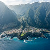 Seixal, a small village in Madeira Island, Portugal, North coast.