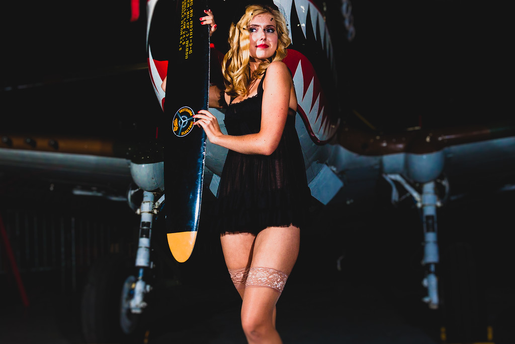 American Airpower Pinup Shoot