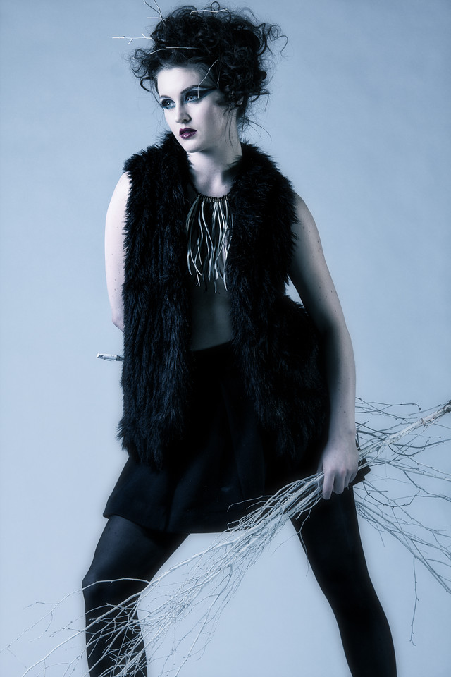 Hanah | Winter/Nature Fashion Concept Shoot