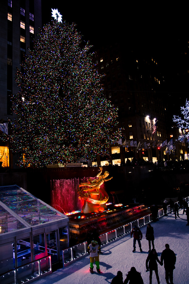 Nick + Shayna | Rockefeller Plaza Proposal| 2014