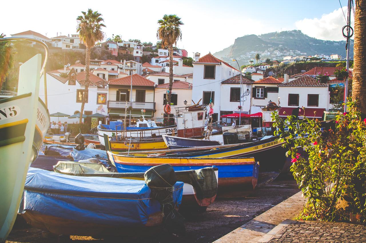 Hafen von Câmara de Lobos, Madeira