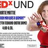 Katie Mattie TedxUND Flyer
