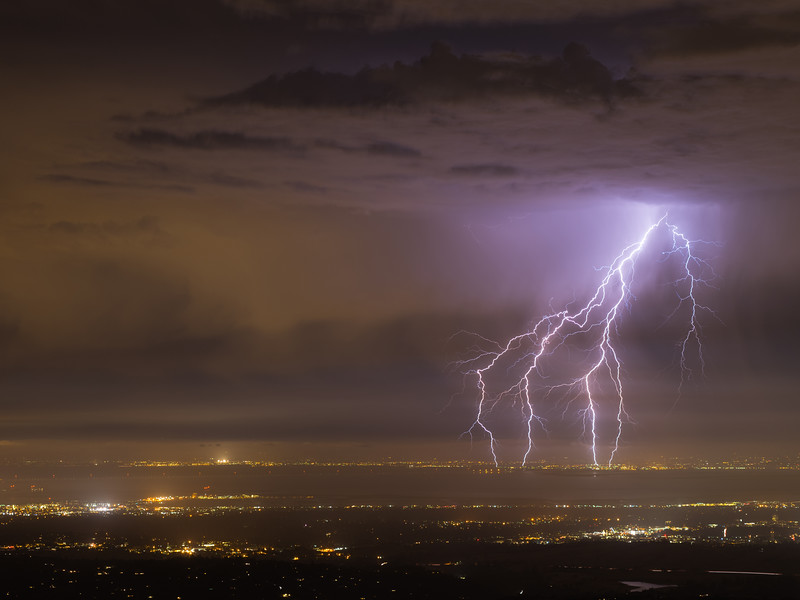 Bay Area Lightning