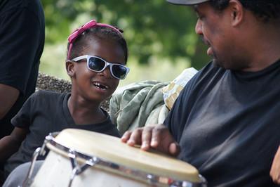 Drum Circle - Malcolm X Park Washington, DC