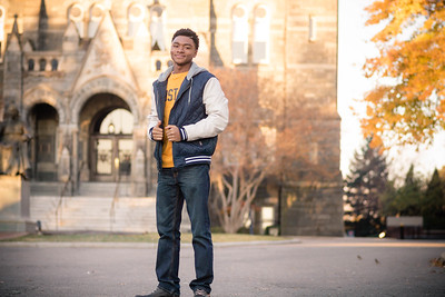Georgetown DC Senior photography session with Kameron