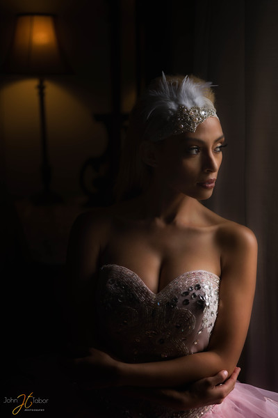 Awaiting her prince