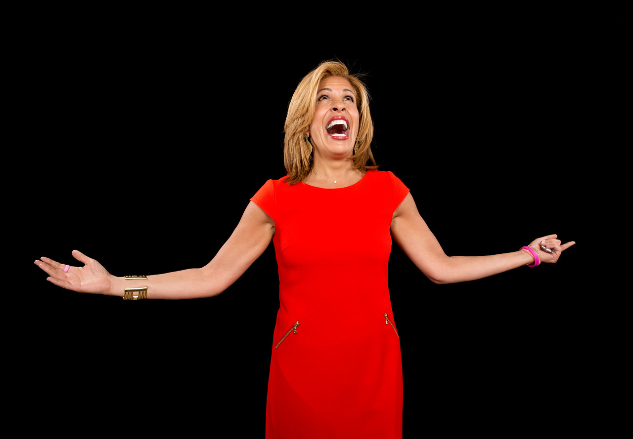 Hoda Kotb visits AOL Hq for Build on January 6, 2015 in New York. Photos by Noam Galai