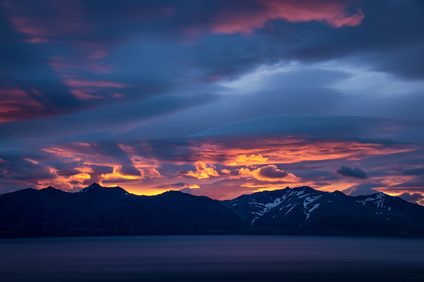Photograph: The Westfjords - 3am at the Westfjords in Northern Iceland, taken during the midnight sun.