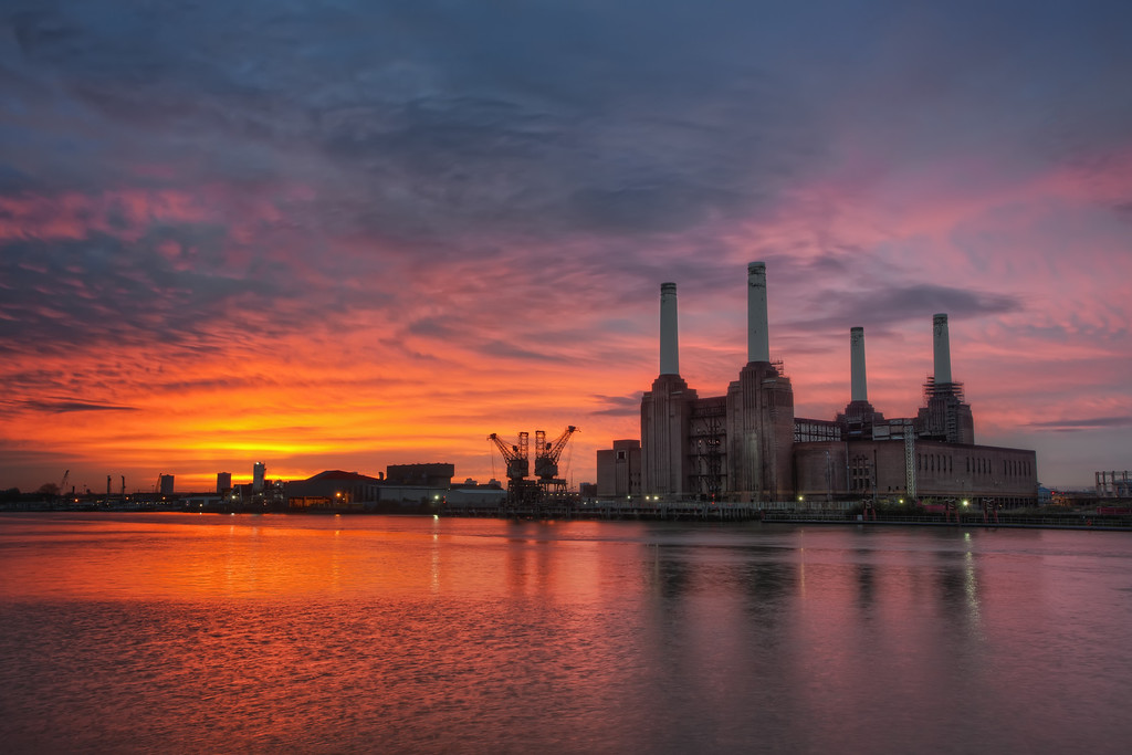 Photograph: The Morning Light - Gorgeous sunrise over Battersea Power Station in London, England.