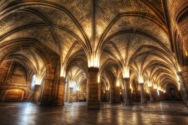 Photograph: La Conciergerie - HDR interior shot of La Conciergerie, a former royal palace in Paris, France.