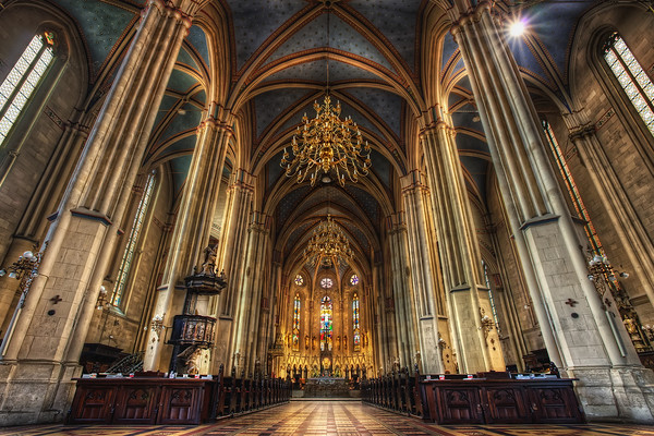 Photograph: Zagreb Cathedral - Interior photo of Zagreb Cathedral in Croatia.
