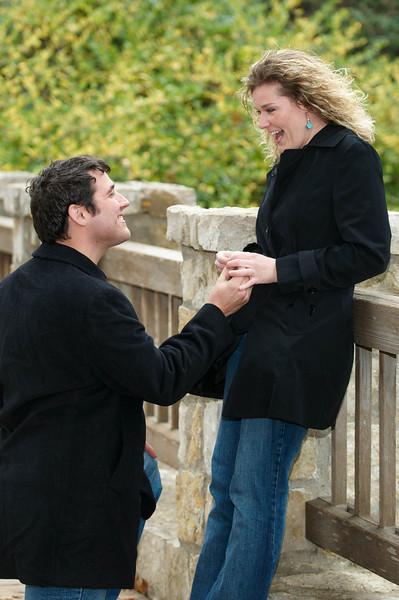 Actual surprise marriage proposal