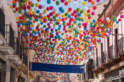 Fiesta decorations, Ronda