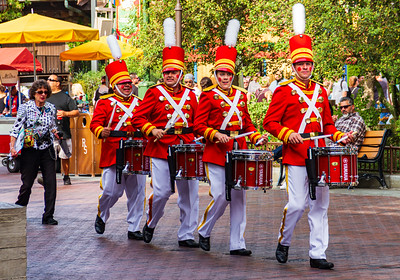 Disneyland March of the Tin Soldiers Acquires a Wannabe