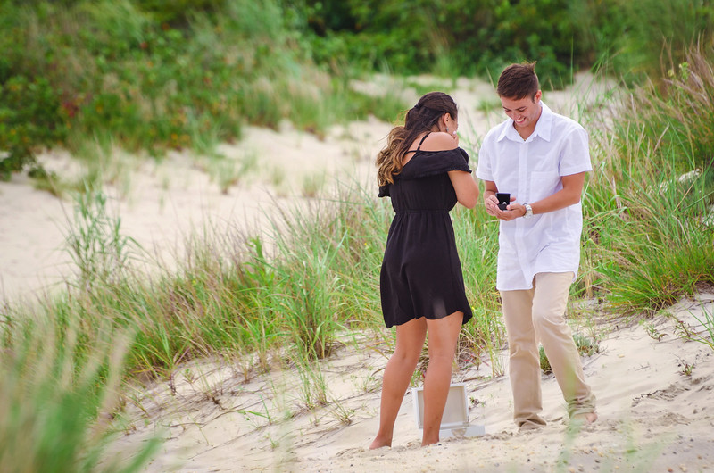 Alex & Keith's Beach Proposal