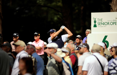 The Seniors Open Championship 2015 presented by Rolex, SUNNINGDALE, SURREY, ENGLAND