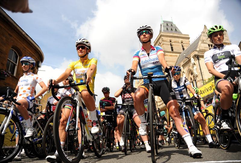 Aviva Women's Tour Stage 5, Northampton to Kettering, ENGLAND, UK