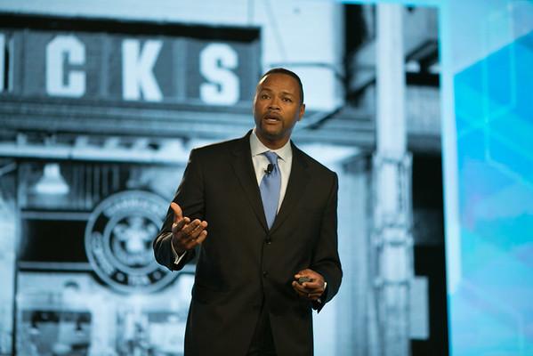 Mike Conway  / Starbuck's - IRI Summit 2015