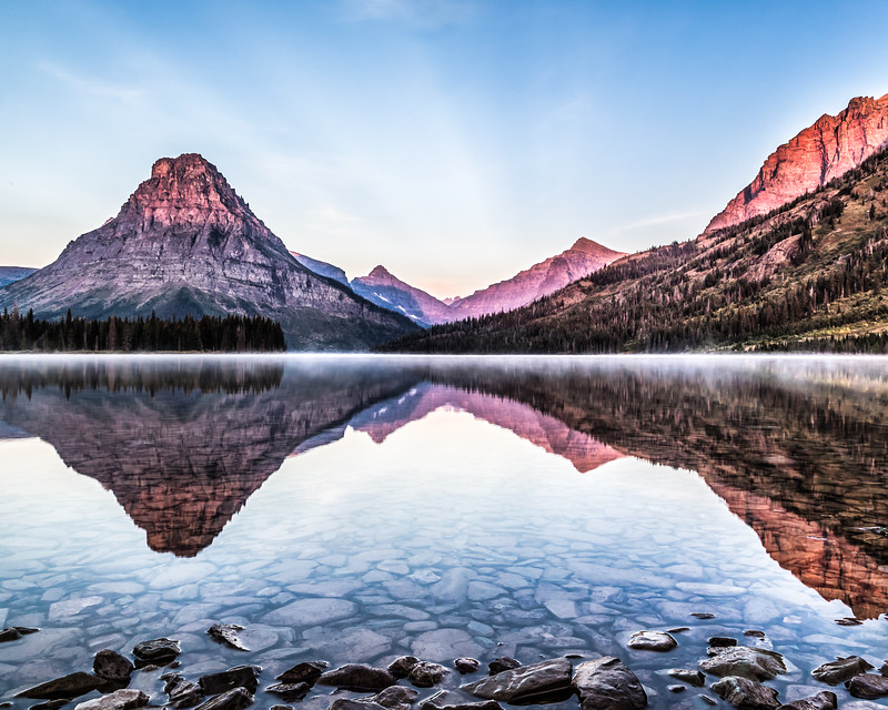 Sunrise in Glacier National Park