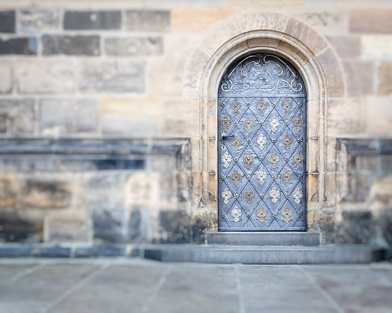 Prague Castle Door