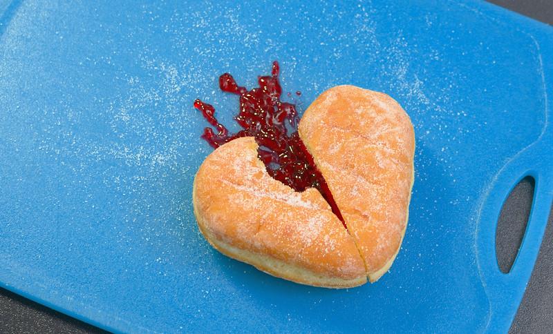 Doughnut Broken Heart
