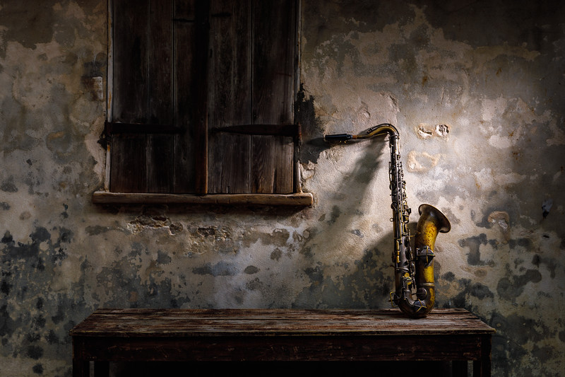 Daniel Farrow's Saxophone