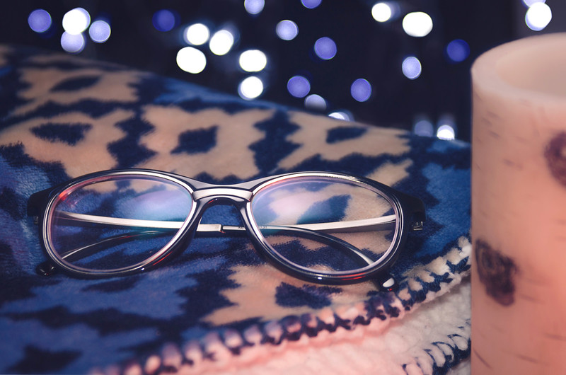Glasses On A Cozy Blanket