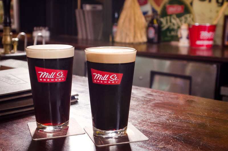 Mill St Brewery Stout Pints