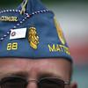 Tim Ritter of the Mattoon VFW before the Mattoon parade on Friday, July 4, 2008. (Jay Grabiec/Staff Photographer)