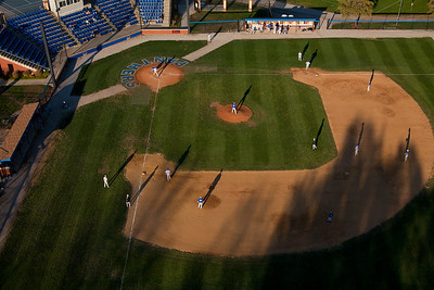 Coaches Stadium at Eastern Illinois University in Charleston, Illinois on October 21, 2011. (Jay Grabiec)