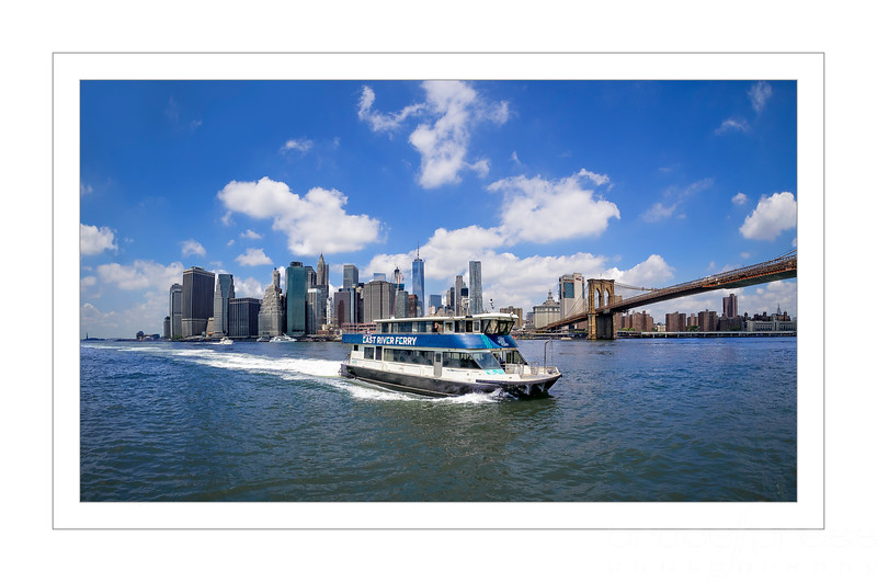 Escape To Brooklyn on East River Ferry