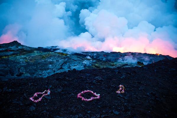 Kīlauea volcano, south shore Big Island hawaii