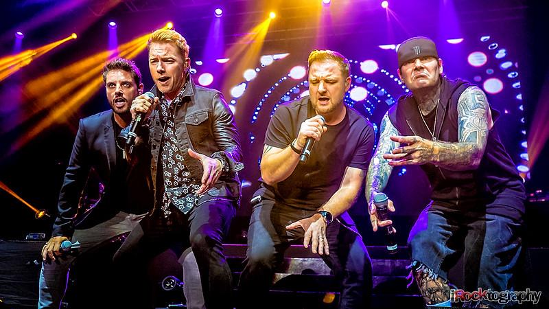 Boyzone performing in Manila